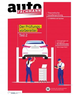 Prüfungsvorbereiter Theorie Teil 2 Kfz-Mechatroniker   Fachbuch autoFACHMANN