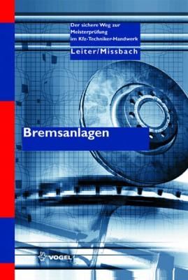 Bremsanlagen Fachbuch Meisterprüfung Kfz-Technik | autoFACHMANN